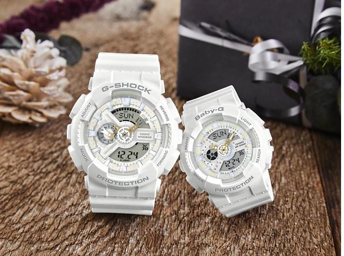 CASIO LOVER'S 版 LOV-17A-7A G-SHOCK BABY-G 對裝情侶手錶