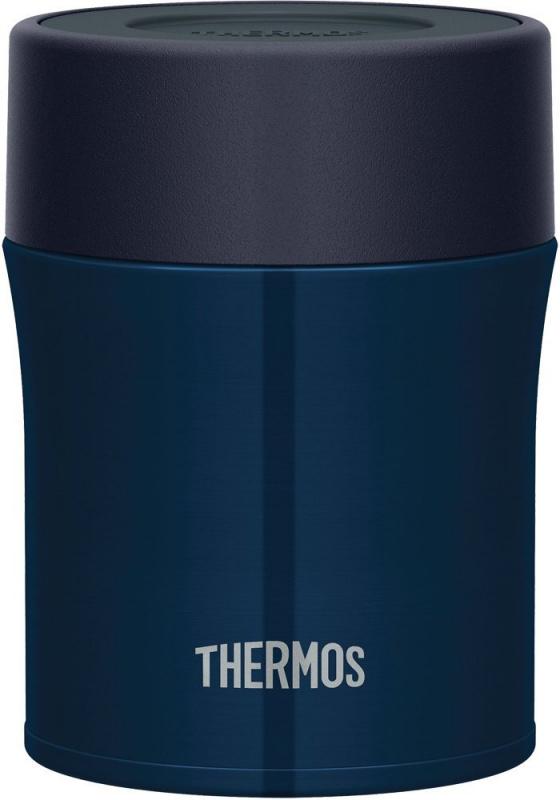 THERMOS 500ml 燜燒杯 深藍色 1個