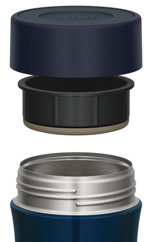 THERMOS 500ml 燜燒杯 深藍色 2個