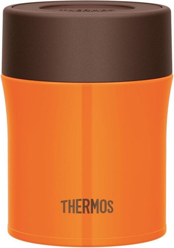 THERMOS 500ml 燜燒杯 橙色 1個