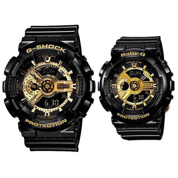 CASIO G-Shock GA-110GB-1A 黑金手錶