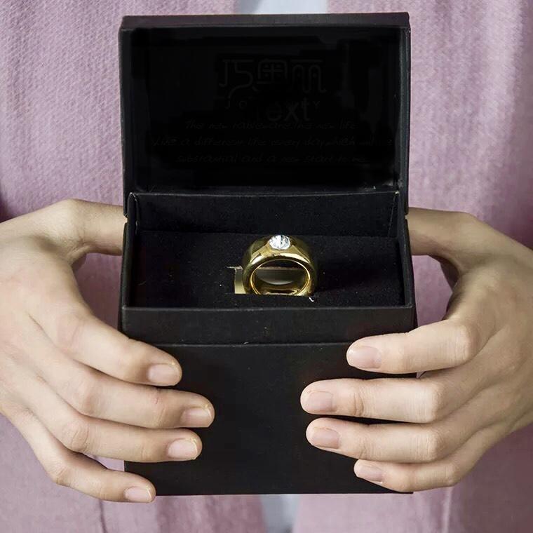 情侶戒指陶瓷杯禮盒裝