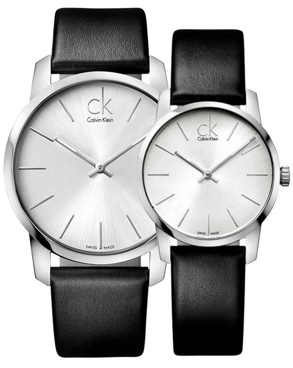 Calvin Klein City 系列情侶石英腕錶 [2色]
