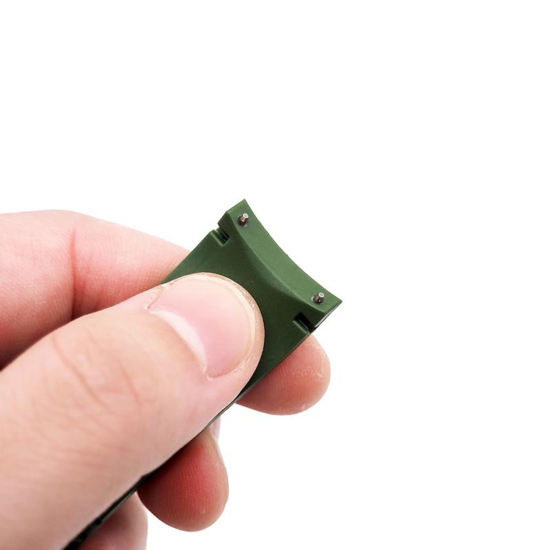 21mm 綠色 Patek Philippe 優質代用橡膠錶帶 合適 PP Aquanaut 5167