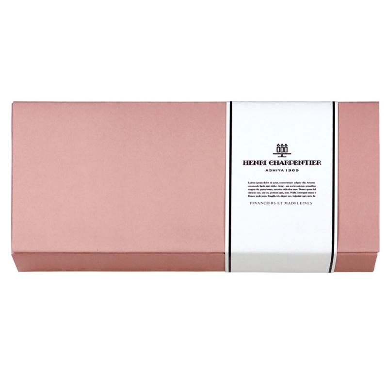 日本Henri C. 法式 Financier & Madeleine 雜錦蛋糕禮盒 (1盒8件)【市集世界 - 日本市集】