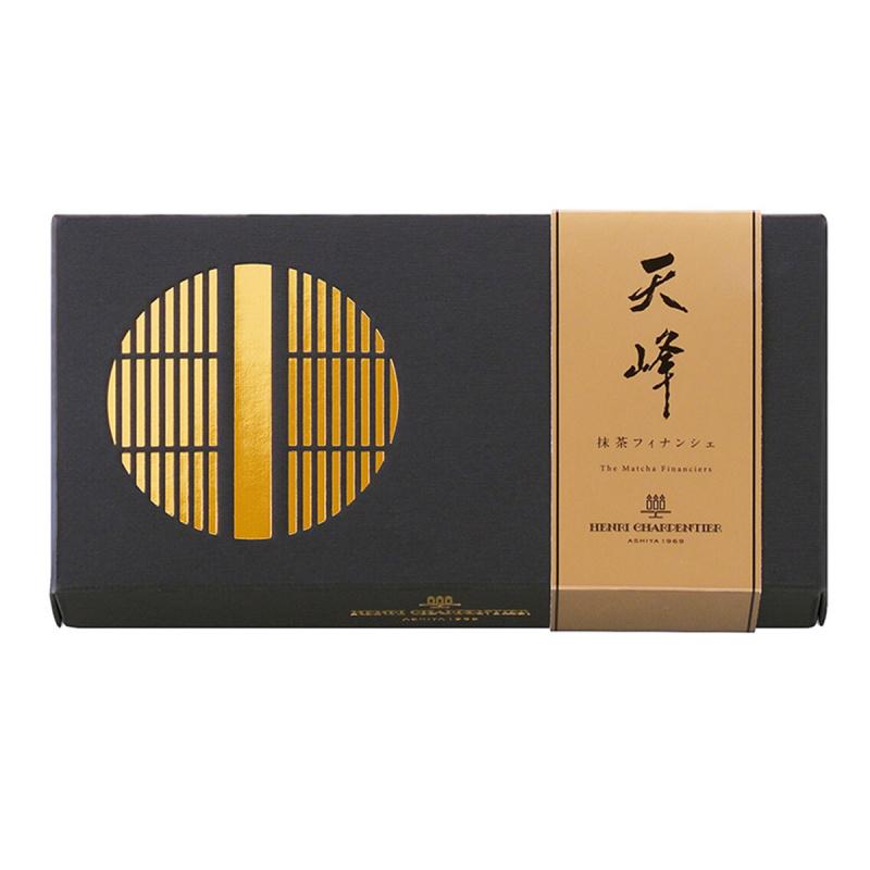 日本Henri C. 茶師十段監修《天峰》宇治抹茶工藝蛋糕禮盒 (1盒5件)【市集世界 - 日本市集】