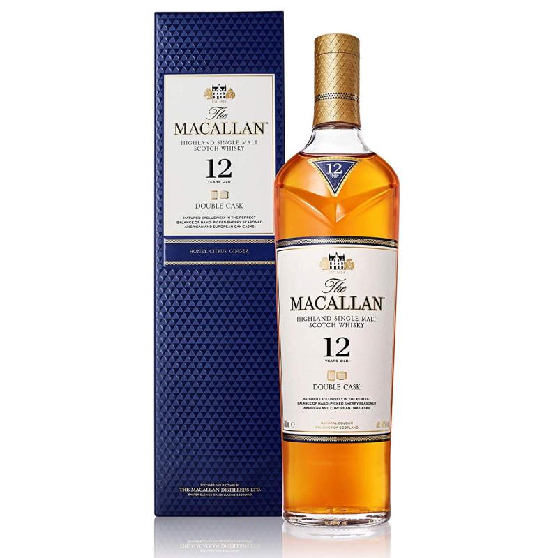 Macallan 12年 Double Cask - 70cl/40%