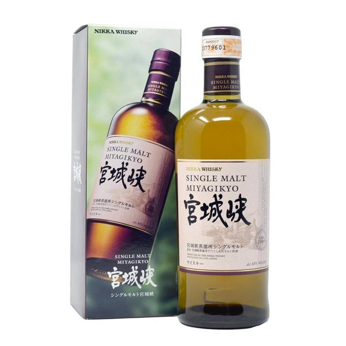 宮城峽 單一麥芽日本威士忌 - 70cl/45%