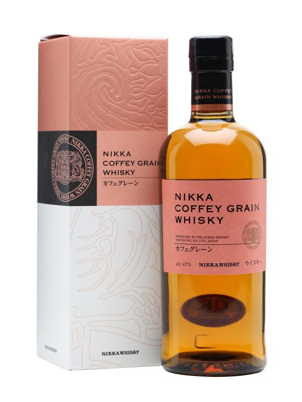 Nikka Coffey Grain Japanese Whisky - 70cl/45%