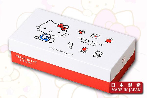 Hello Kitty餐具禮盒套裝 (5件)|日本製造