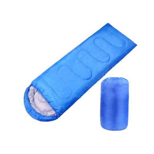 夾棉信封式户外便攜超輕露營睡袋 送銀面求生墊