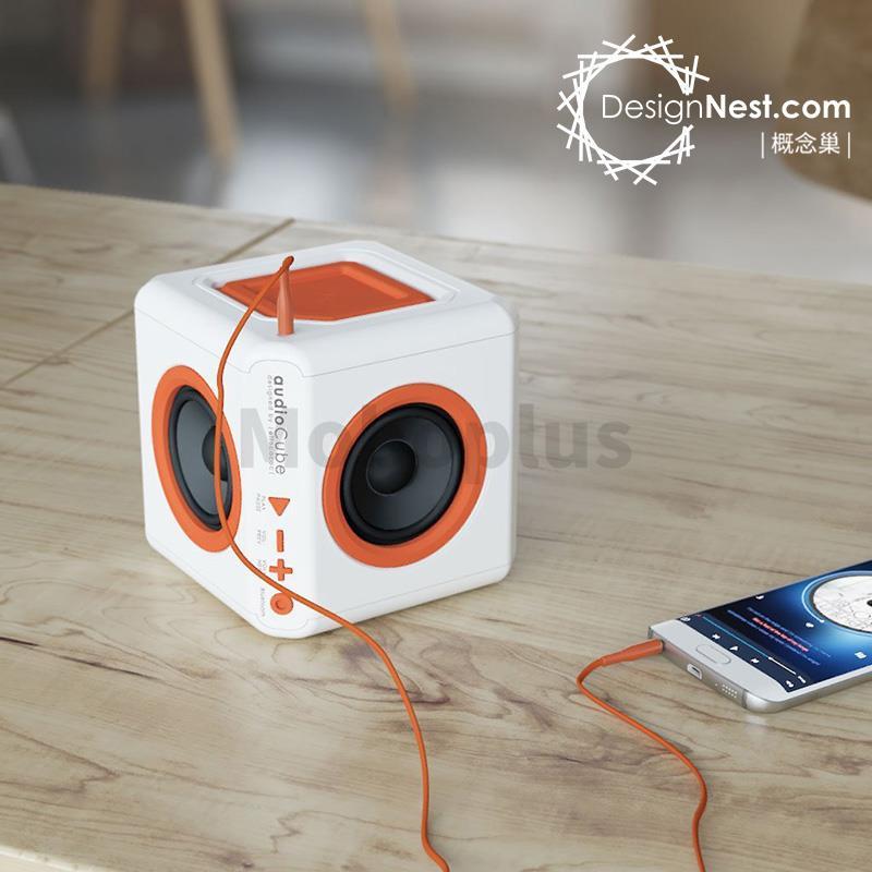 荷蘭Allocacoc AudioCube 無線藍牙喇叭