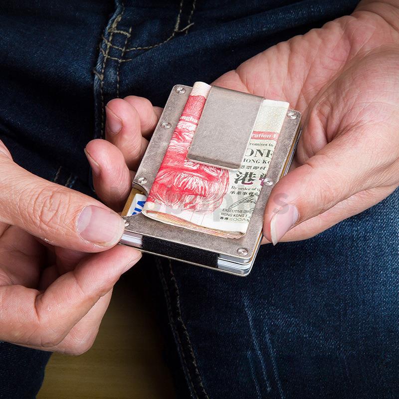 德國MODERN RFIT防盜金屬錢夾