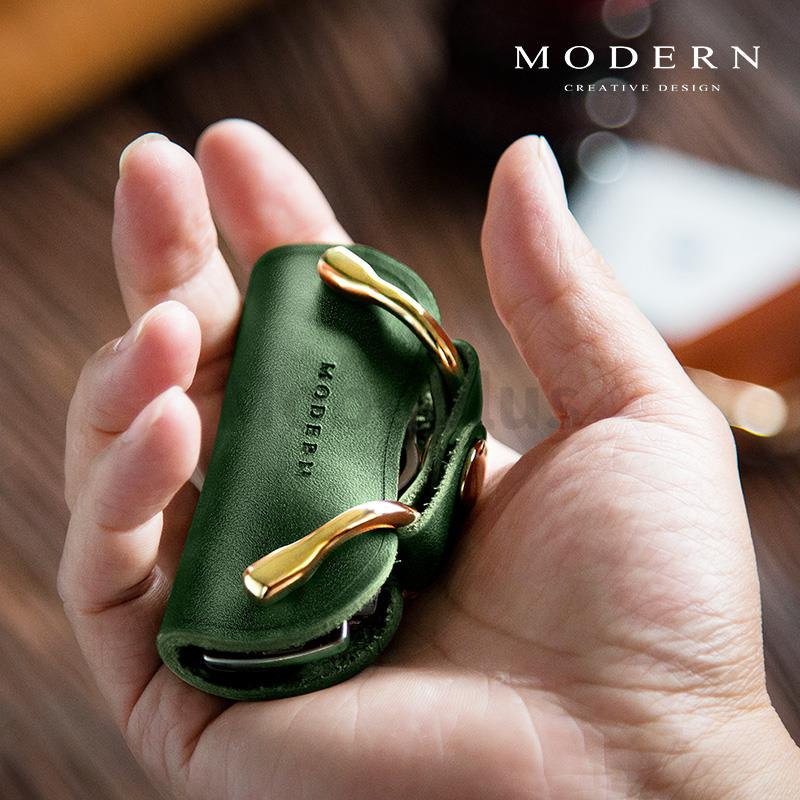 德國MODERN 手工牛皮鎖匙收納包