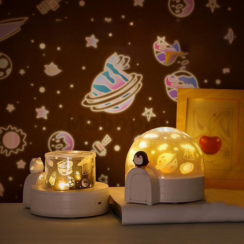 Aurora 極地雪屋投影燈【多款可選】