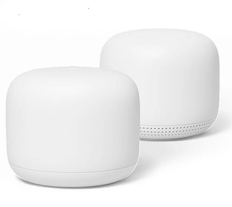Google Nest Wifi AC2200 Wi-Fi Router 2件裝 (1主機+1子機)