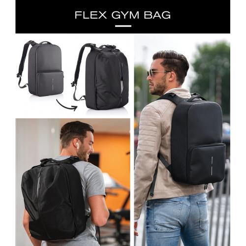 XD Design Flex Gym Bag 多功能健身運動防盜背囊 (附送XD Design行李收納包一個)