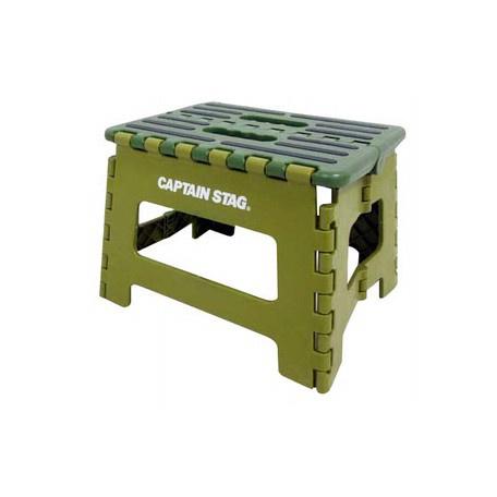 預訂 - 日本進口 - Captain Stag 露營 野餐 戶外用 可折椅子S(綠色/藍色/紅色)