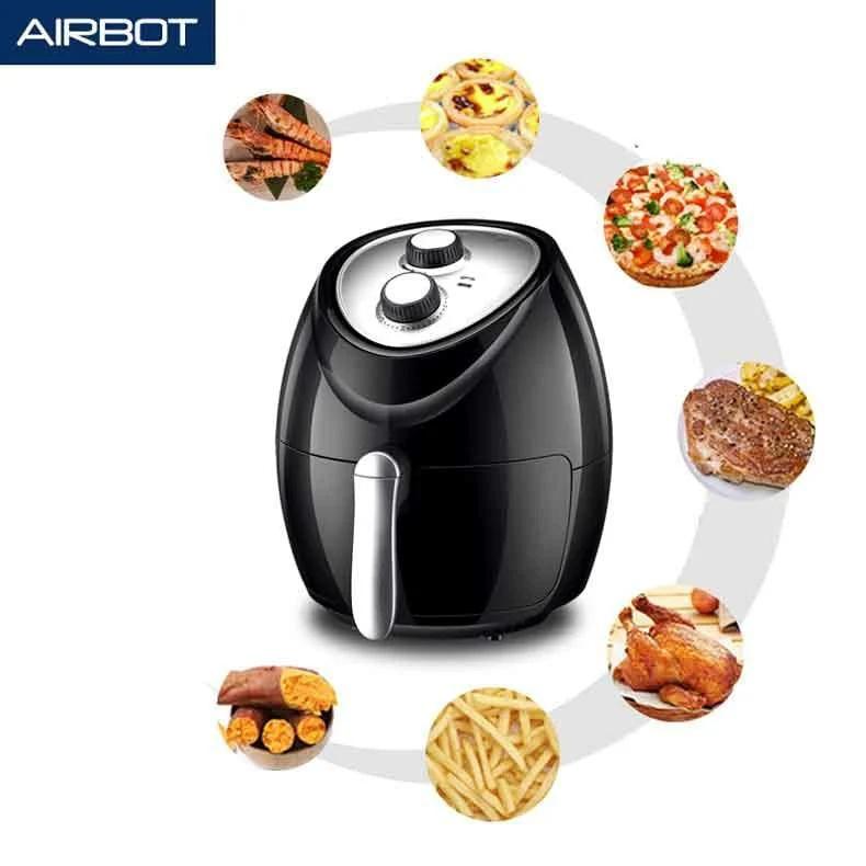 2020年新款上市 日本AIRBOT AF100 多功能空氣炸鍋 3L 無油健康煮食 多項認證 【香港行貨 一年保養】