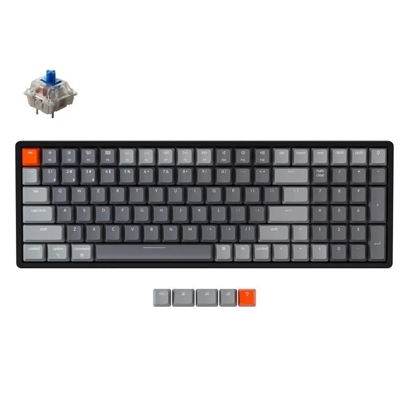 英國Keychron K4 V2 RGB Aluminum 機械軸鍵盤