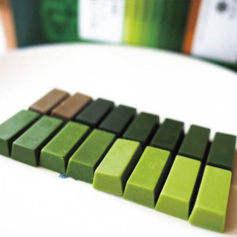日本 丸七製茶 7級濃度 抹茶朱古力 夢幻粉彩禮盒 1盒32條 (抵食版)【市集世界 - 日本市集】