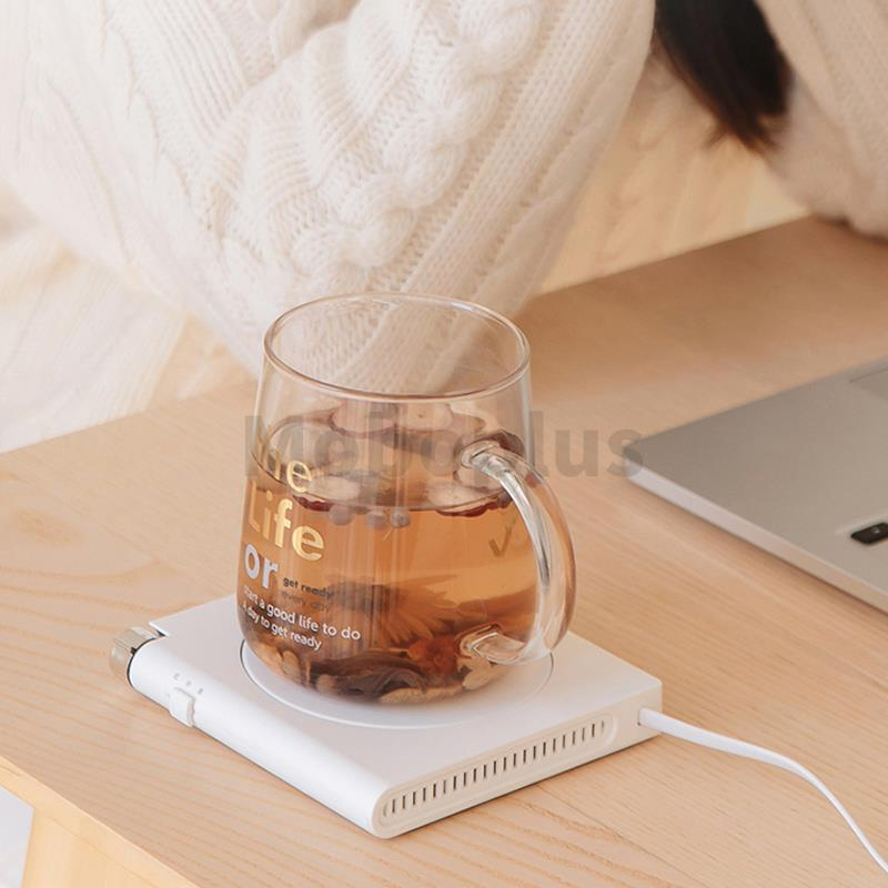 Shiji 55度恆溫USB暖杯墊 2-5天發貨