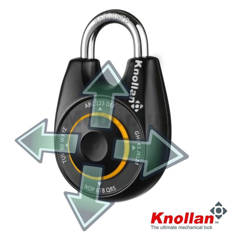 以色列Knollan 方向密碼鎖 2-5天發貨