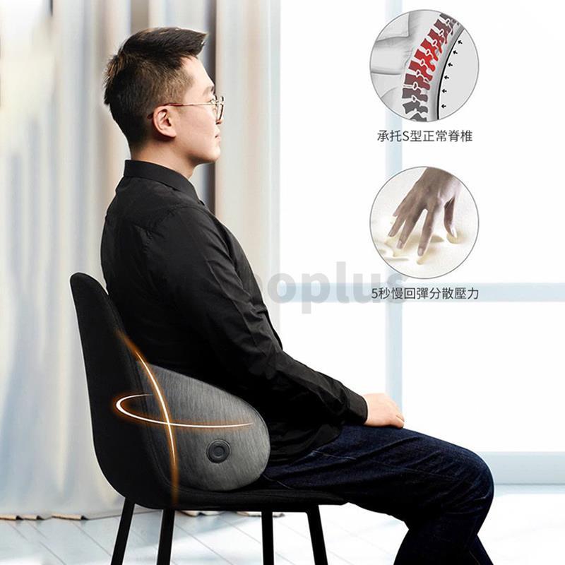 [按摩+護腰] Workmate X-Uprise 3D智能溫感按摩腰靠 3-5天發貨