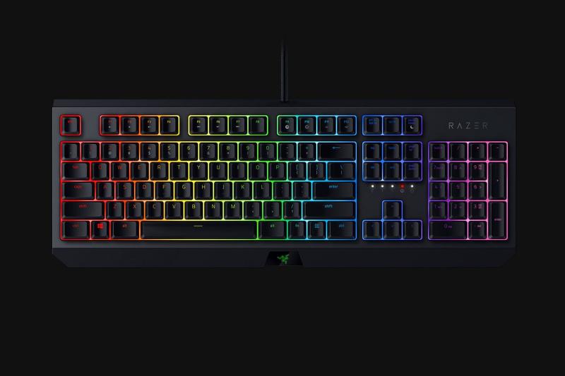 Razer BlackWidow keyboard GREEN