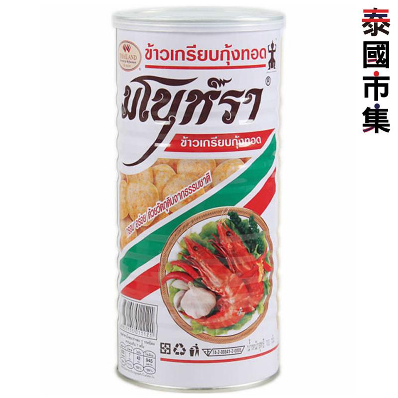 泰國 馬努拿 原味蝦片 鐵罐裝 90g【市集世界 – 泰國市集】