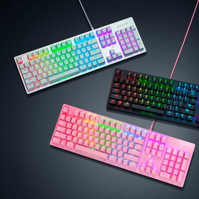 Razer Huntsman Quartz Pink Optical Gaming Keyboard