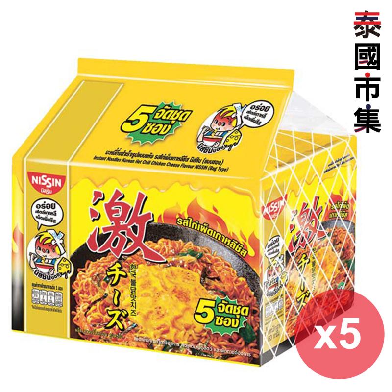 泰國版 日清 出前一丁 韓式芝士辣雞肉味 即食撈麵 60g (5件裝)【市集世界 - 泰國市集】
