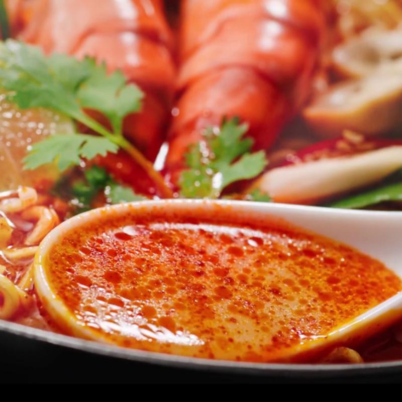 泰國版 日清 即食麵 泰式香辣冬陰公蝦風味72g (5件裝)【市集世界 - 泰國市集】