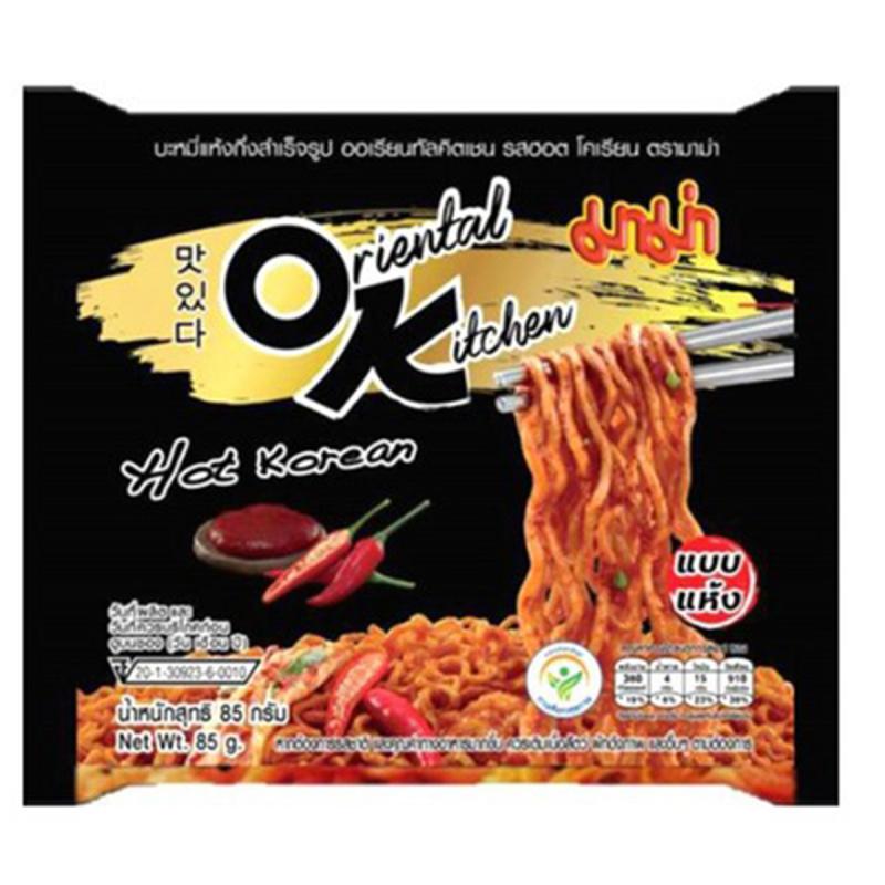 泰國 媽媽牌 OK麵 韓式辣醬味撈麵 85g (4件裝)【市集世界 - 泰國市集】