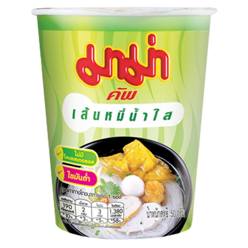 泰國 媽媽牌 米粉杯麵 清湯味 50g (3件裝)【市集世界 - 泰國市集】