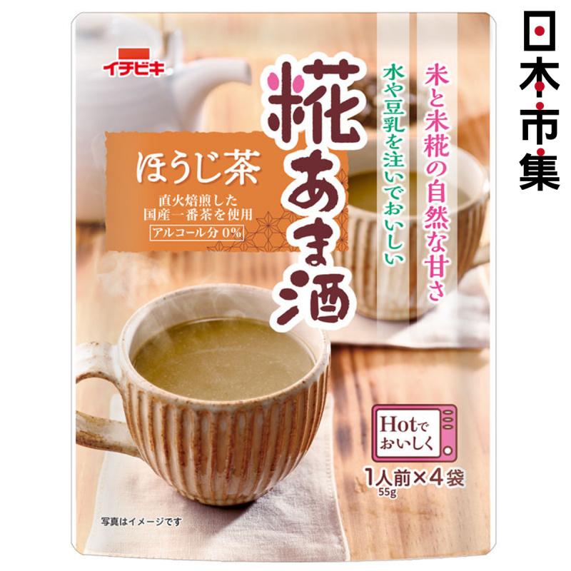 日本 イチビキ 焙茶無糖甘酒 (4袋入)【市集世界 - 日本市集】