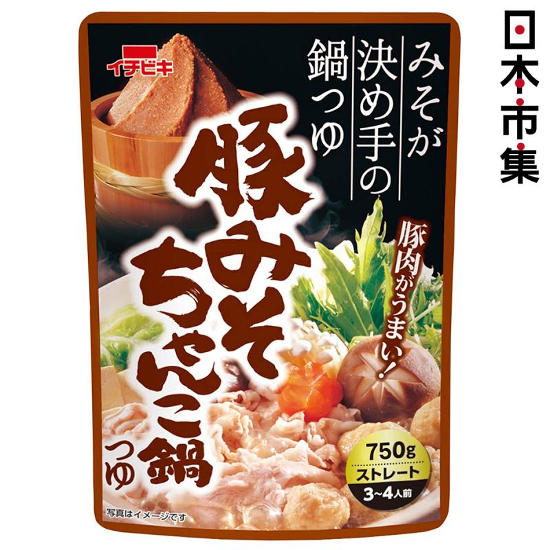 日本 イチビキ 火鍋湯底包 豚肉味噌 750g【市集世界 - 日本市集】