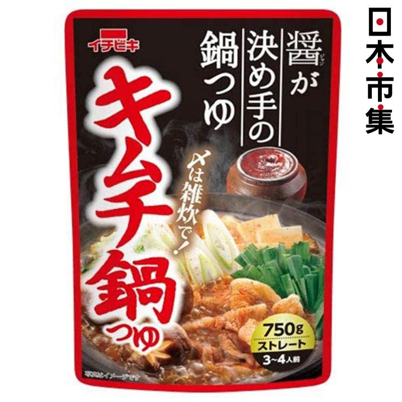 日本 イチビキ 火鍋湯底包 泡菜鍋鰹魚海帶3醬油味 750g【市集世界 - 日本市集】