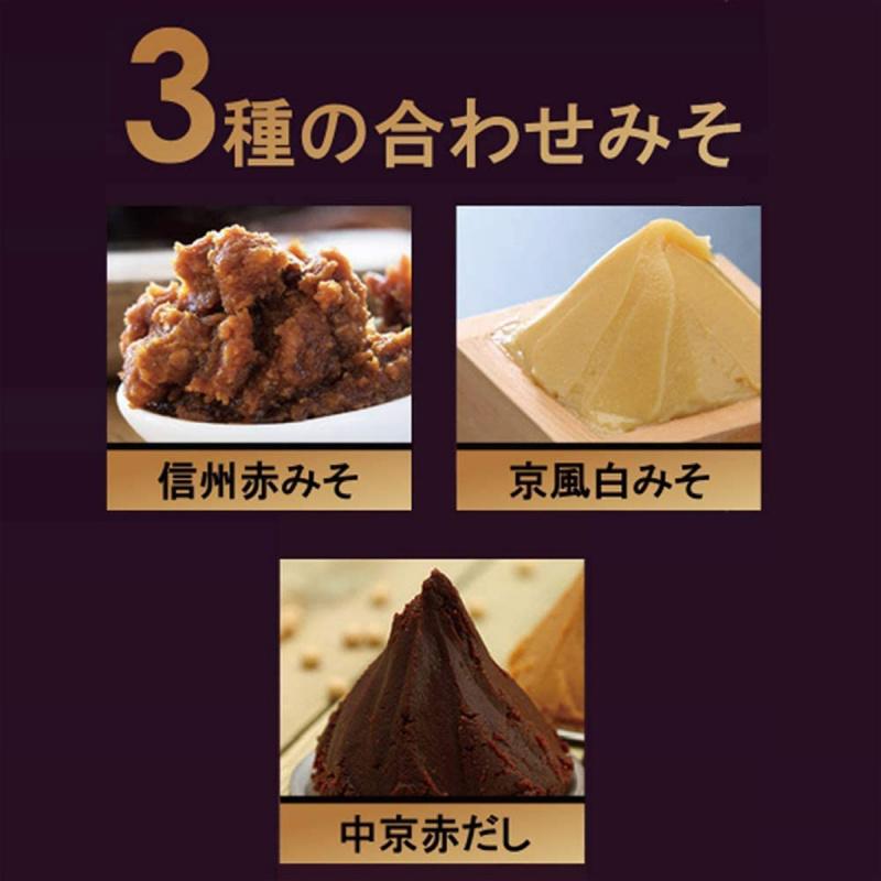 日本 マルコメ 料亭の味 豪華鯛魚即溶 3種混合味噌菜餚汁 430g【市集世界 - 日本市集】