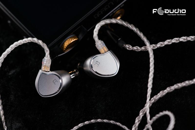 【送6N單晶銅4.4平衡線】FAudio Chorus 三動鐵入耳式耳機