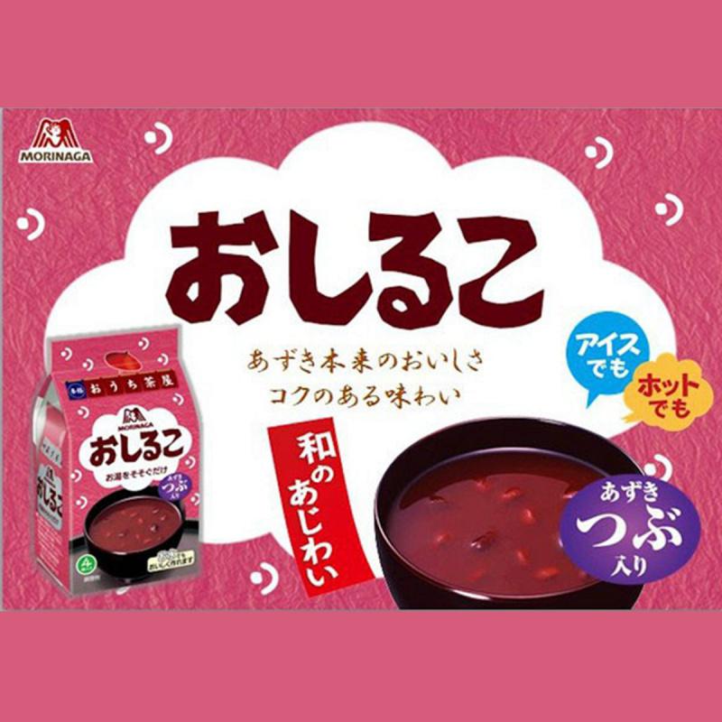 日版 森永 即食紅豆湯 (4包)【市集世界 - 日本市集】