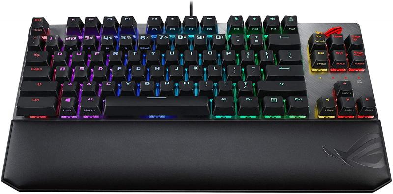 ASUS ROG Strix Scope TKL Deluxe RGB 機械式電競鍵盤