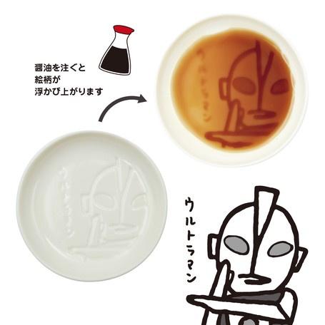日本進口 - 超人醬油碟 ( 咸蛋超人/ 巴魯坦星人/七星俠)
