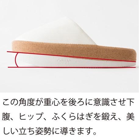 (白色現貨)- 日本進口 - SLIET 讓下半身瘦下來的姿勢重心調整家居拖鞋