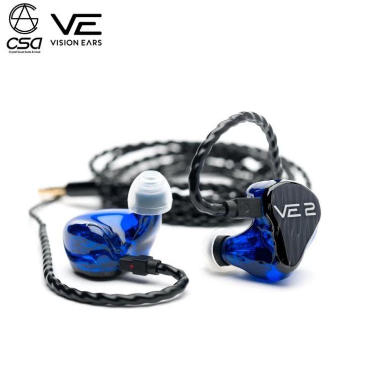 """[香港行貨] Vision Ears VE2 """"Signature Design"""" Universal Fit 公模版"""