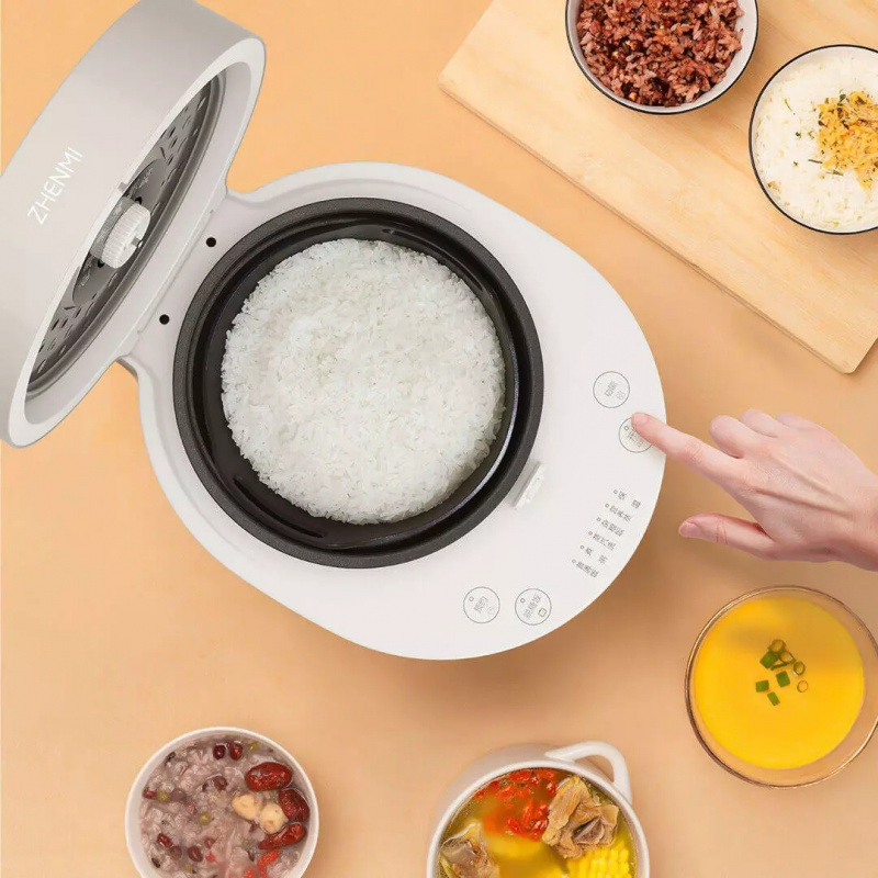 Zhenmi 臻米 低糖蒸汽電飯煲養生飯煲X5 2L升級款 3-5天發貨