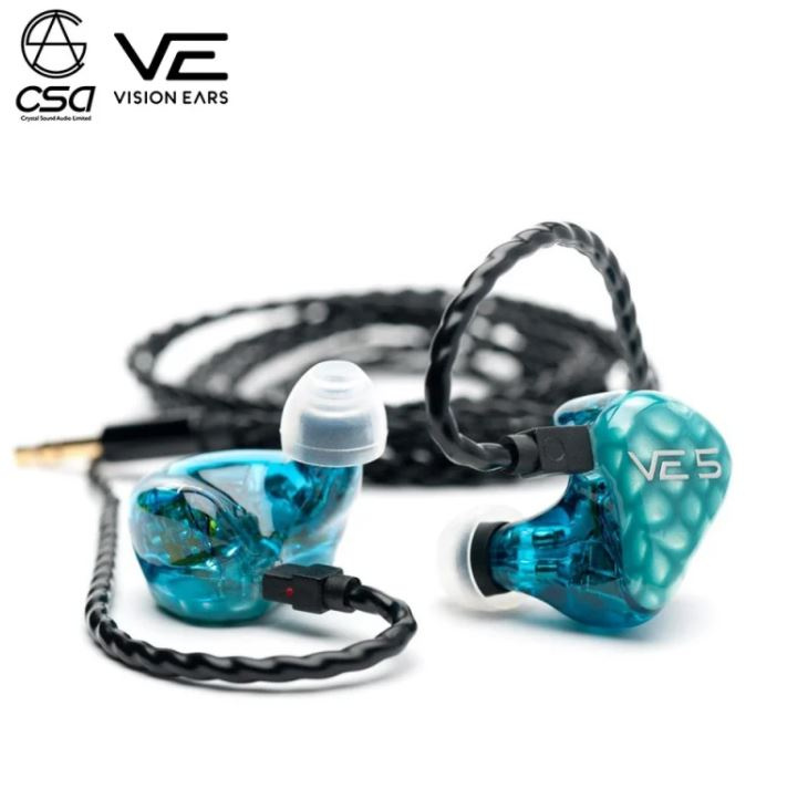 """[香港行貨] Vision Ears VE5 """"Signature Design"""" Universal Fit 公模版"""