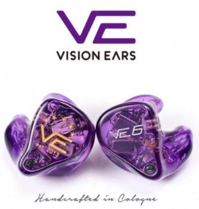 [香港行貨] Vision Ears VE6 Xcontrol 德國製六單元耳機 (Universal Fit 公模)