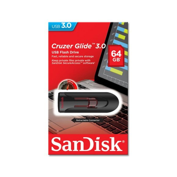 Sandisk Cruzer Glide 3.0 USB隨身記憶體手指 32GB / 64GB / 128GB / 256GB SDCZ600