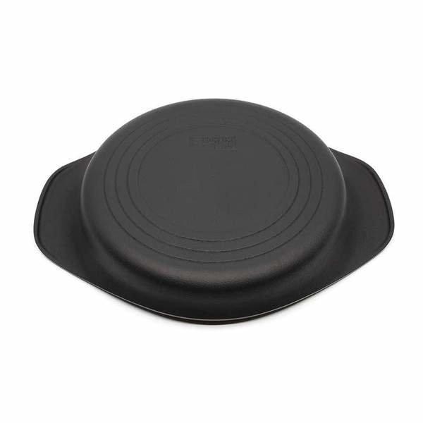 日本制 22cm 鑄鐵煎鍋燒烤盤 (不包蓋)